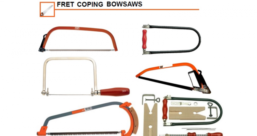 Bahco Tools - Fret, Coping & Bowsaw Series